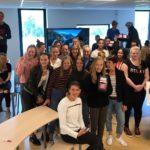 leerlingen vieren collecteresultaat